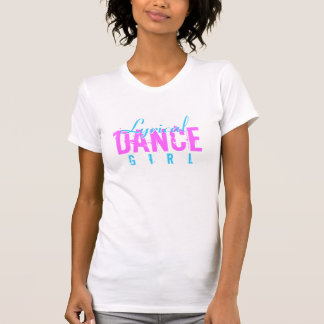 T-shirt Fille lyrique de danse