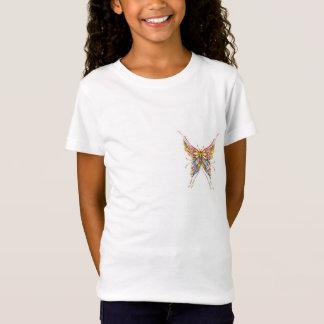 T-shirt fille - Papillon