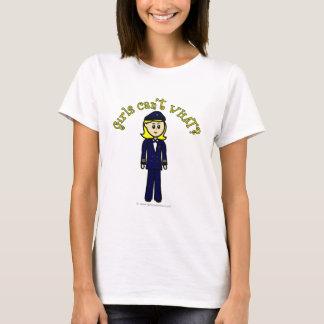 T-shirt Fille pilote légère