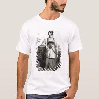 T-shirt Fille rurale de Tirollian, 1817