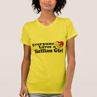T-shirt Fille sicilienne