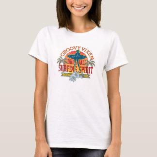 T-shirt Fille super T de surfer de renarde
