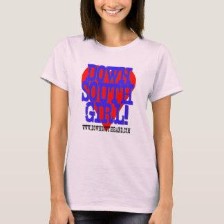 T-shirt Fille vers le bas du sud
