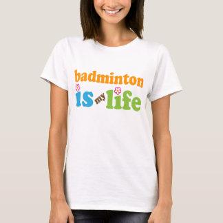 T-shirt Filles de cadeau de joueur de badminton