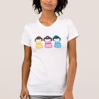 T-shirt Filles de Kokeshi