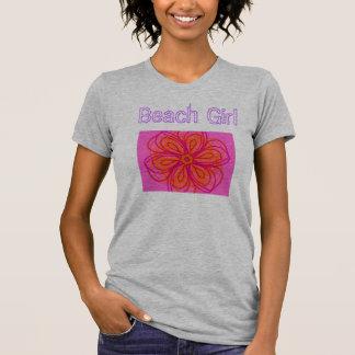 T-shirt Filles de plage
