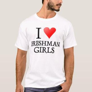 T-shirt Filles d'étudiant de première année du coeur I