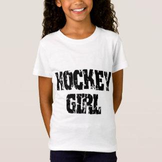 T-Shirt Filles d'hockey de fille d'hockey
