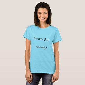 T-shirt Filles d'octobre
