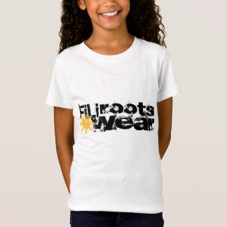 T-Shirt filles du filirootswear b/w