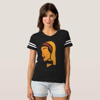 T-shirt filles du football