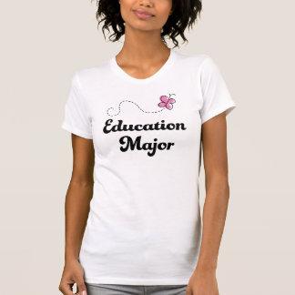 T-shirt Filles importantes d'idée de cadeau d'éducation