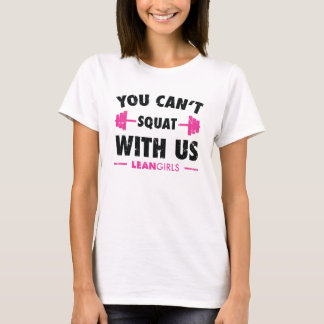 T-shirt Filles maigres que vous ne pouvez pas vous