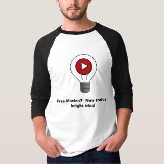 T-shirt Films libres ?  Maintenant qu'est une idée