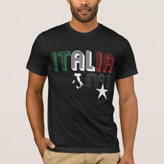 T-shirt Fils de l'Italie - noir - Giovanni Paolo