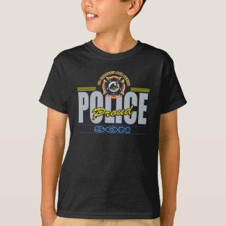 T-shirt Fils fier de police