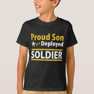 T-shirt Fils fier fait sur commande d'un soldat déployé