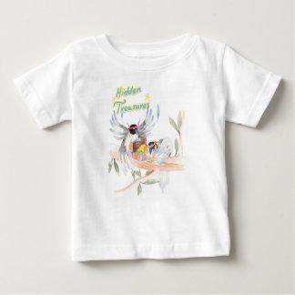 """T-shirt fin """"caché du Jersey de bébé de trésors"""""""