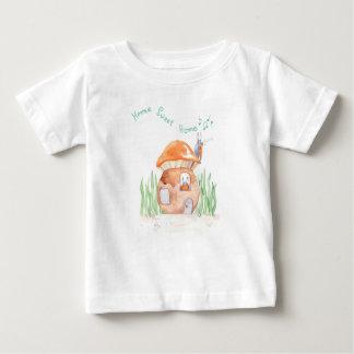 """T-shirt fin du Jersey"""" de bébé à la maison doux """"à"""