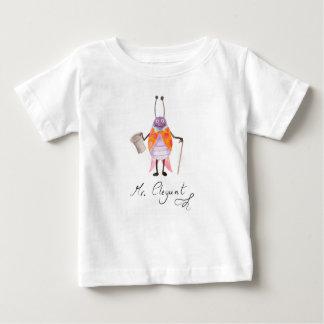 "T-shirt fin du Jersey de bébé de ""M. Elegant"""