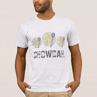 T-shirt Fin gourmet de bol de soupe à ragout de palourde