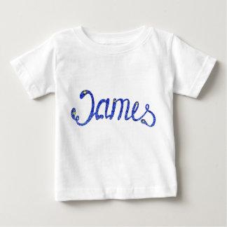 T-shirt fin James du Jersey de bébé