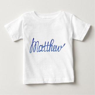 T-shirt fin Matthew du Jersey de bébé