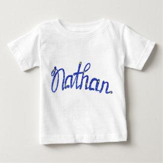 T-shirt fin Nathan du Jersey de bébé