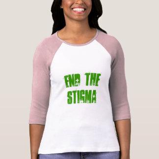 T-shirt FINISSEZ la pièce en t du STIGMATE 3/4