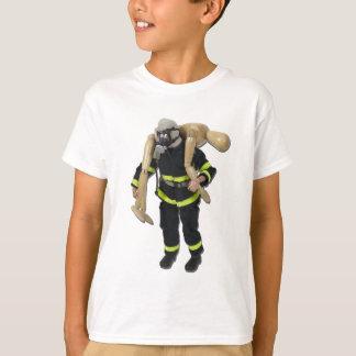 T-shirt FiremanCarryPerson042911