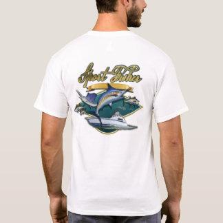 T-shirt Fishin allé