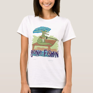 T-shirt Fishin allé par alligator