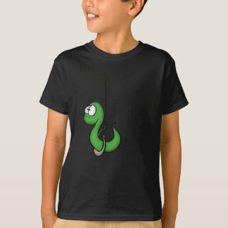 T-shirt Fishing worm