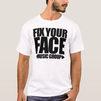 T-shirt Fixez votre pièce en t de groupe de musique de