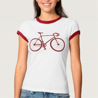 T-shirt Fixie (rouge)
