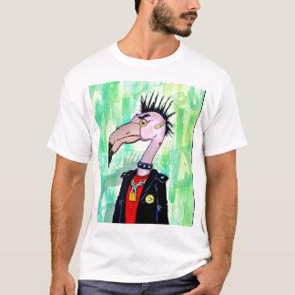 T-shirt Flamant punk