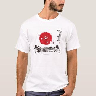 T-shirt Flamants