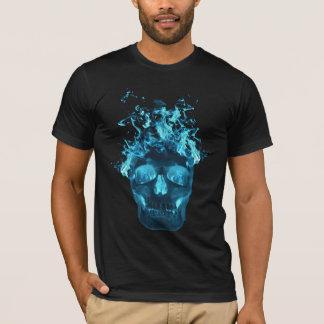 T-shirt flamboyant bleu de crâne