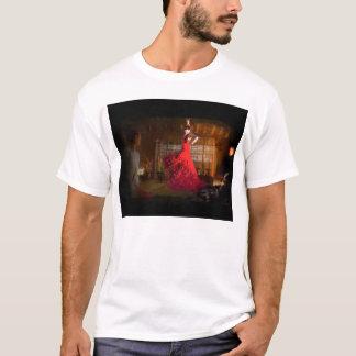 T-shirt Flamenco dans une Chambre de thé