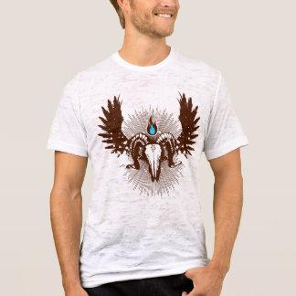 T-shirt Flamme bleue
