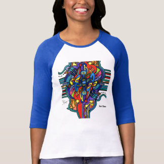 T-shirt Flamme jumelle en couleurs