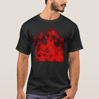 T-shirt Flammes