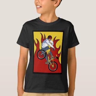 T-shirt Flammes de BMX