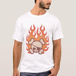 T-shirt Flammes de type