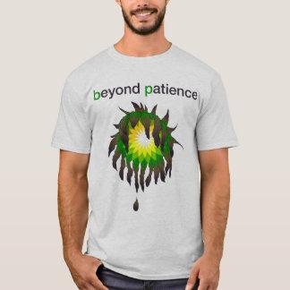 T-shirt Flaque d'huile de BP - au delà de la patience