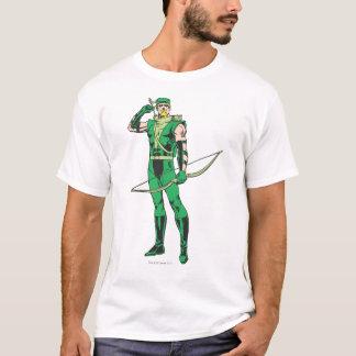 T-shirt Flèche verte avec la cible