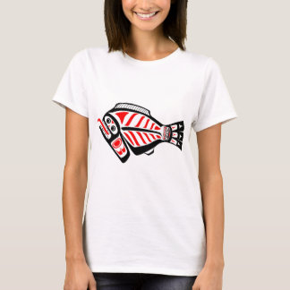 T-shirt Flétan de Tlingit