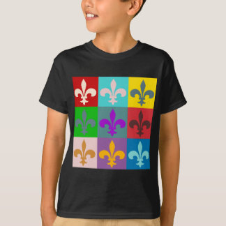 T-shirt Fleur