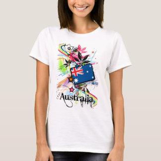 T-shirt Fleur Australie