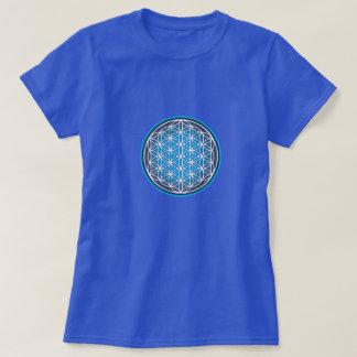 T-shirt Fleur de bleu de la vie
